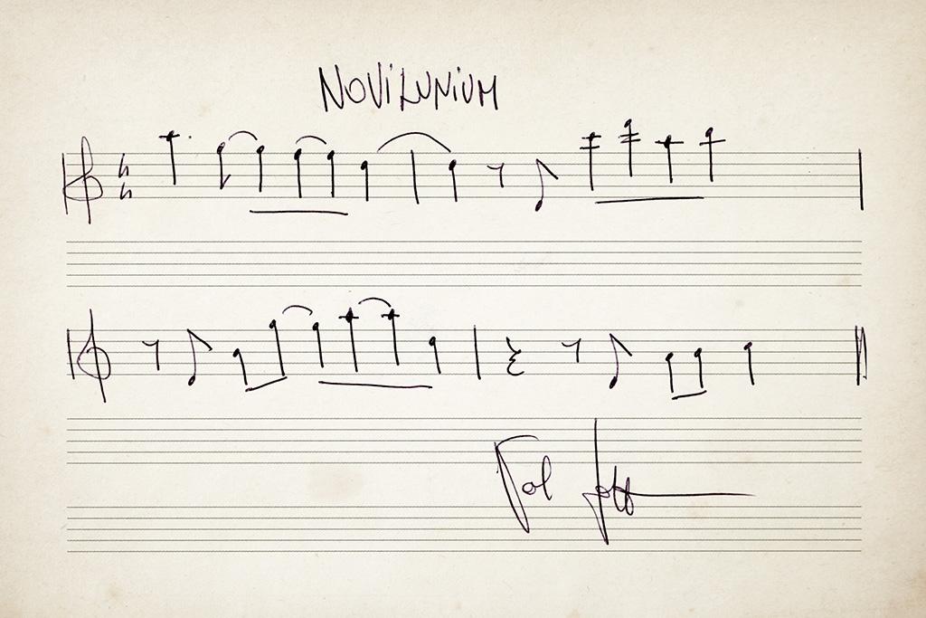 Spartito Novilunium
